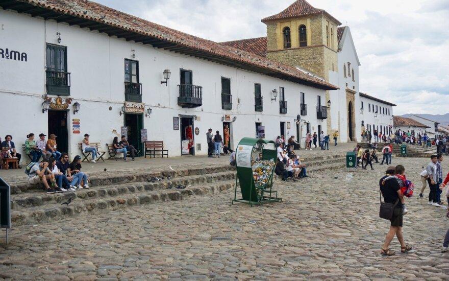 Kolumbijoje užfiksuotas rekordinis užsikrėtimo koronavirusu atvejų paros prieaugis