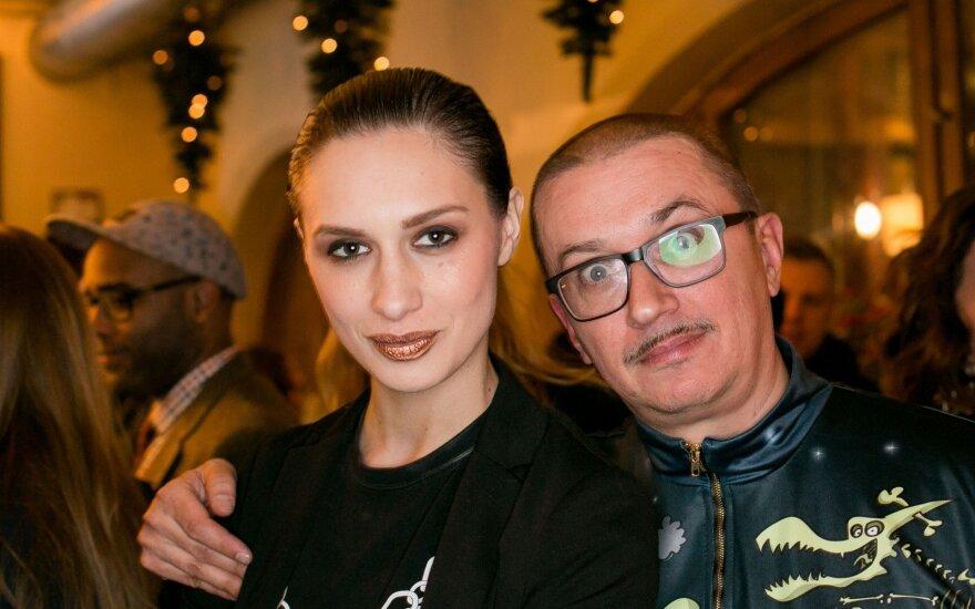Monika Račiūnaitė, Aleksandras Pogrebnojus