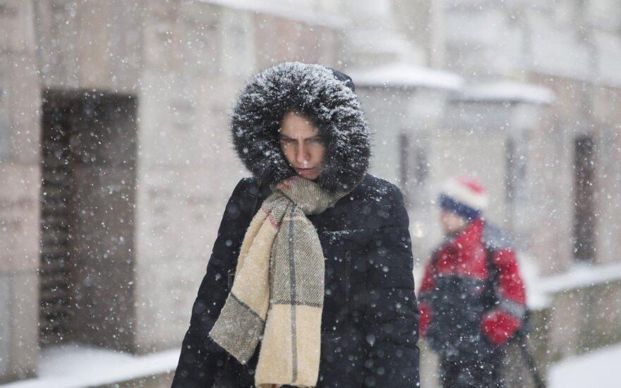 Į Lietuvą atkeliauja šalčio banga