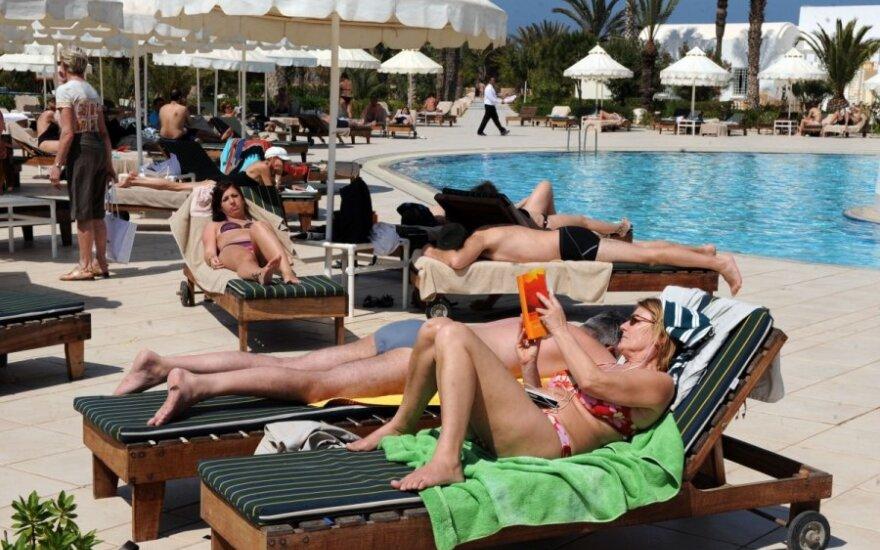 Turistai Tunise