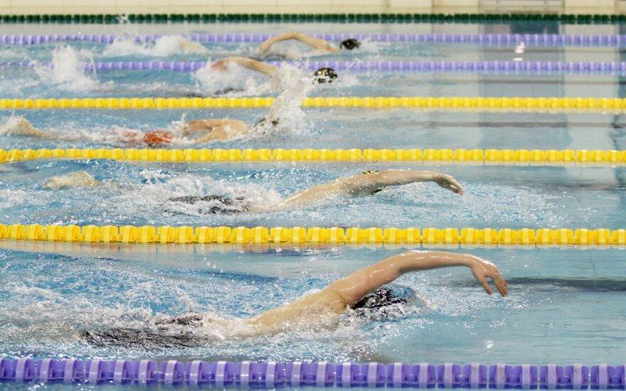 Plaukimas yra tarp sporto šakų, kurių treniruotės brangs labiausiai
