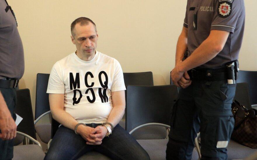 Liūdnai pagarsėjęs Kauno nusikaltėlis Asilas išgirdo dar vieną nuosprendį