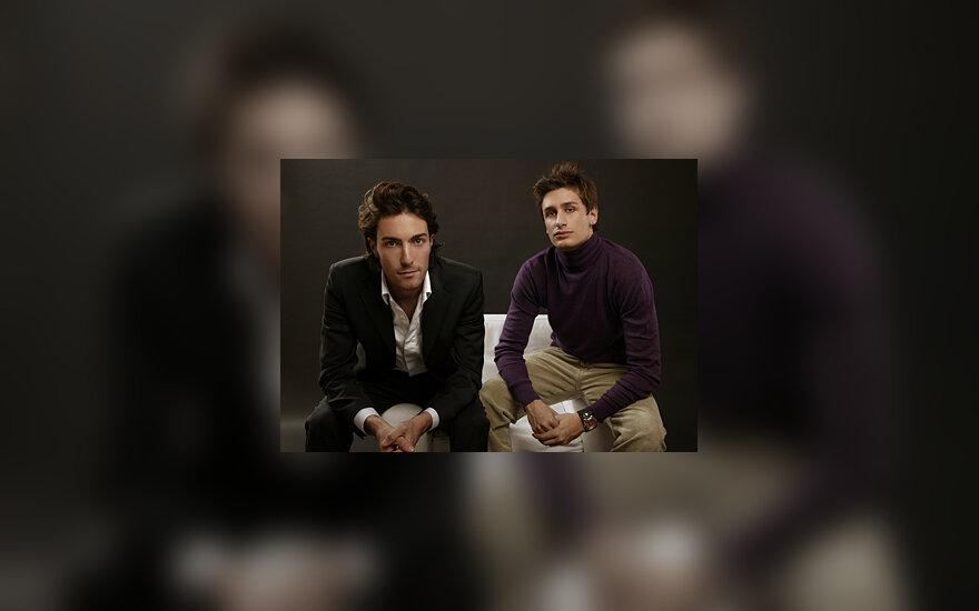 Italų dizaineriai  Mateo de Rosso ir Marco Pastori