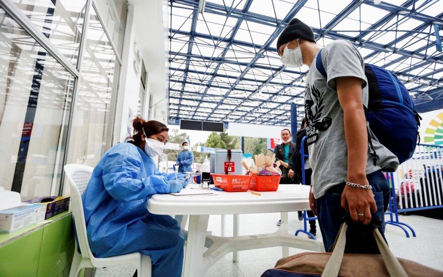 Kovai su koronavirusu PSO nusiuntė į Iraną specialistų ir įrangos