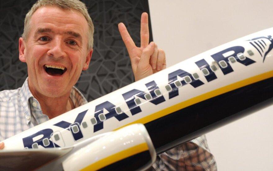 Ryanair vadovas Michael O Leary