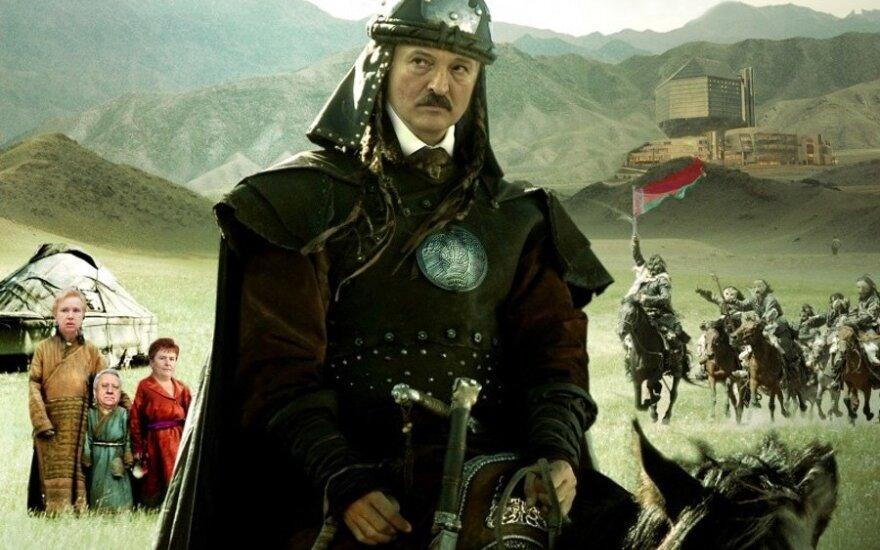A.Lukašenka.  (с) V.Šmygovo koliažas