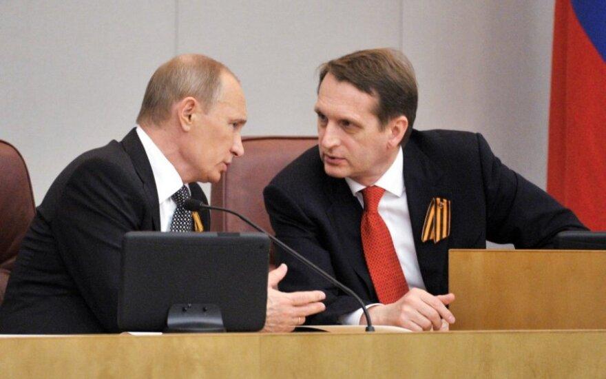 Vladimiras Putinas, Sergejus Naryškinas