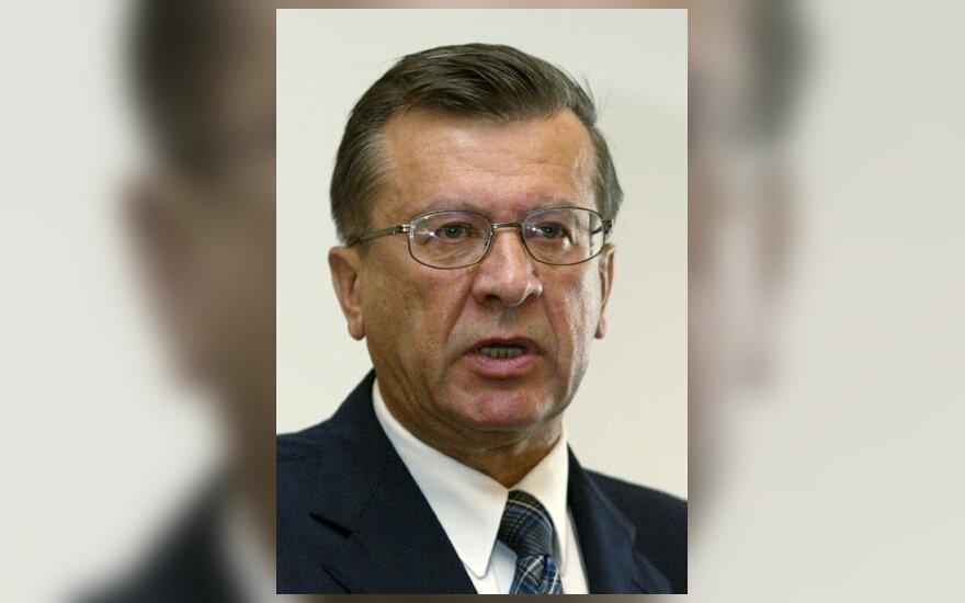 V.Zubkovas: Rusijai nepriimtina Lietuvos parlamento pozicija Gruzijos atžvilgiu