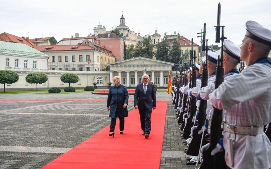 Rukloje NATO bataliono karius aplankys Lietuvos ir Vokietijos prezidentai
