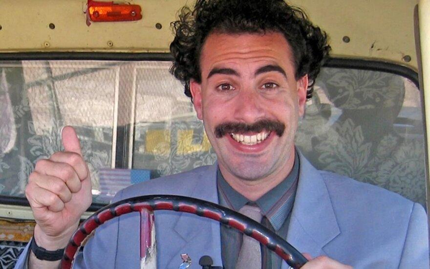 "Sacha Baron Cohen, kadras iš filmo ""Borat Subsequent Moviefilm"""