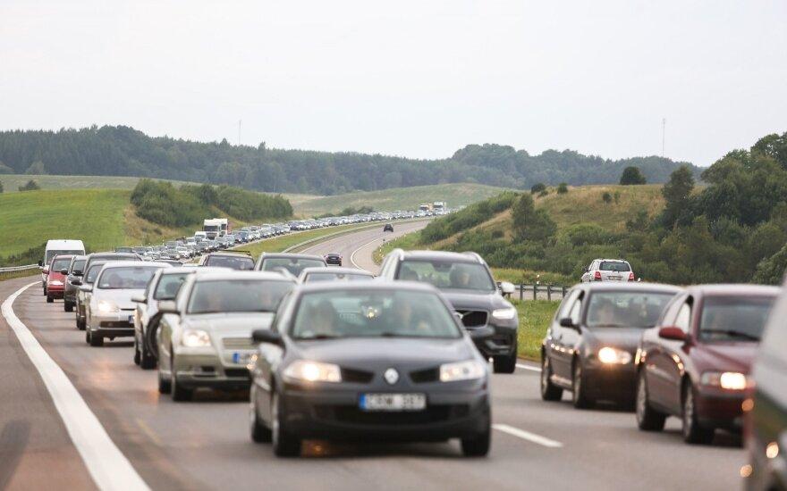 Automagistralėje – išbandymai vairuotojams