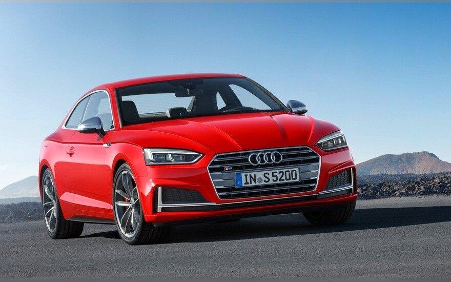 """Debiutavo naujos kartos """"Audi A5"""""""