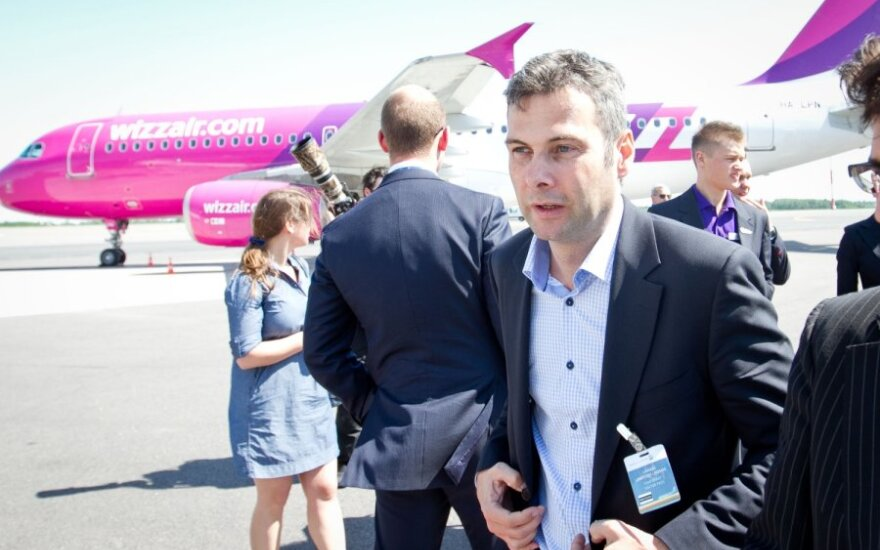 """""""Wizz Air"""" iš Vilniaus pradeda skraidyti penkiomis naujomis kryptimis"""
