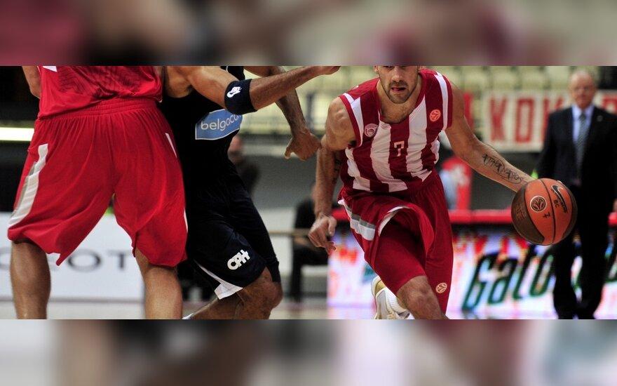 """Vasilis Spanoulis (""""Olympiakos"""")"""