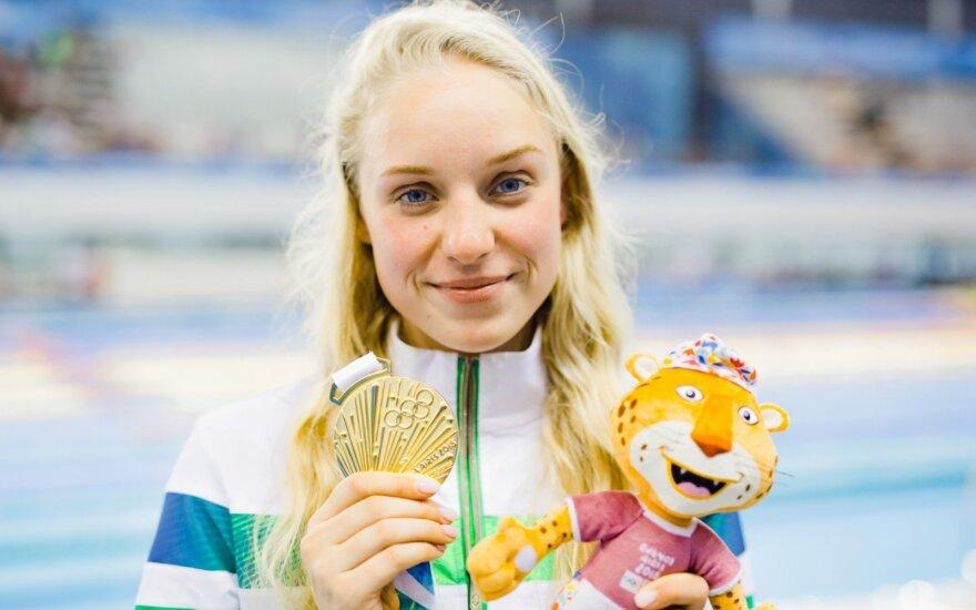 Agnė Šeleikaitė laimėjo jaunimo olimpiados auksą / FOTO: Kipras Štreimikis