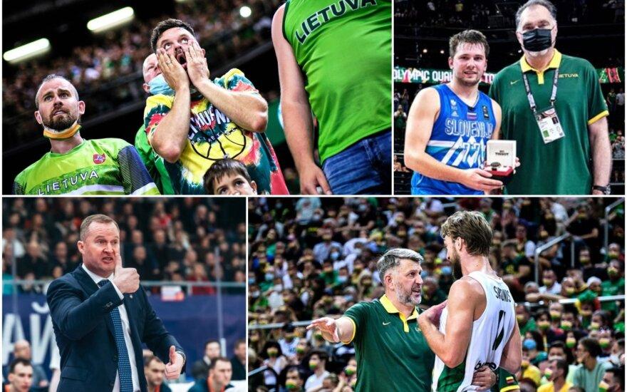 Luka Dončičius, Arvydas Sabonis, Kazys Maksvytis, Darius Maskoliūnas, Domantas Sabonis (Foto: FIBA)