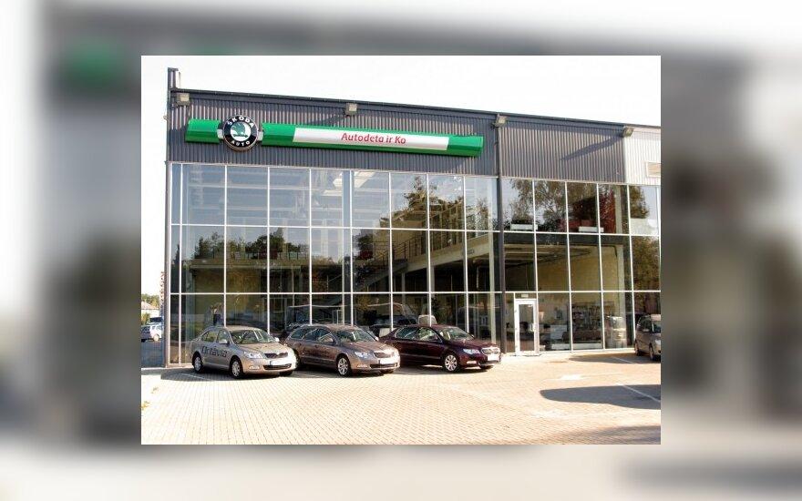 """""""Škoda"""" atidarė naują saloną Alytuje"""