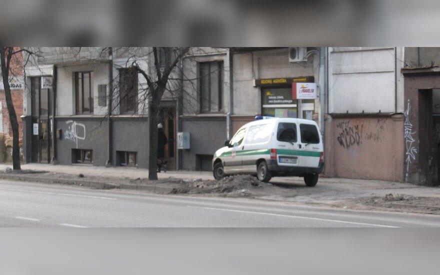 Kaune, E.Ožeškienės g. 21. 2011-02-10, 16.05 val.