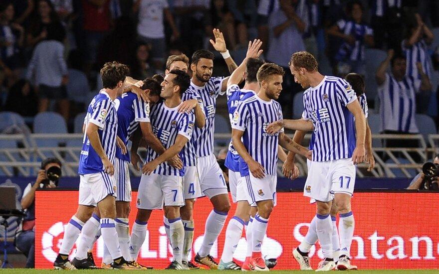 """Real Sociedad"" futbolininkai"