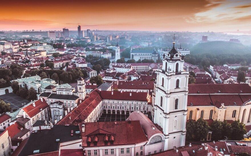 Po įvykių Vilniaus centre esančiame viešbutyje – policijos tyrimas: tiesą atskleidė vaizdo įrašai