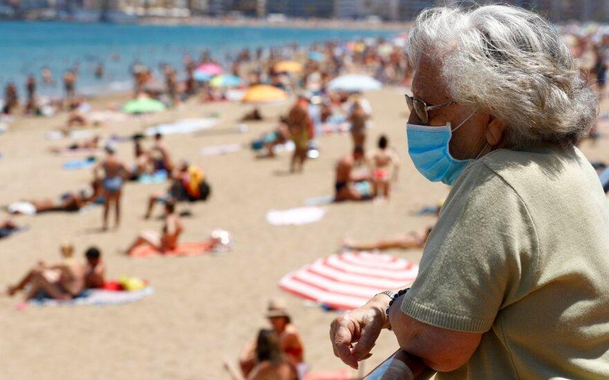 Ispanijoje – naujų COVID-19 atvejų šuolis, fiksuojama vis daugiau protrūkių