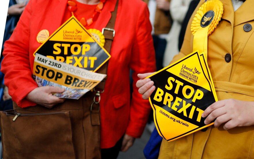 """ES nekeičia pozicijos: naujų """"Brexit"""" derybų nebus"""