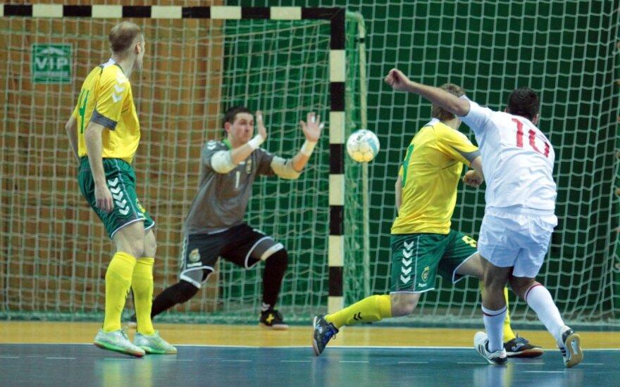 """Paskutiniame Lietuvos """"Futsal A lygos"""" ture – medalių dalybos"""