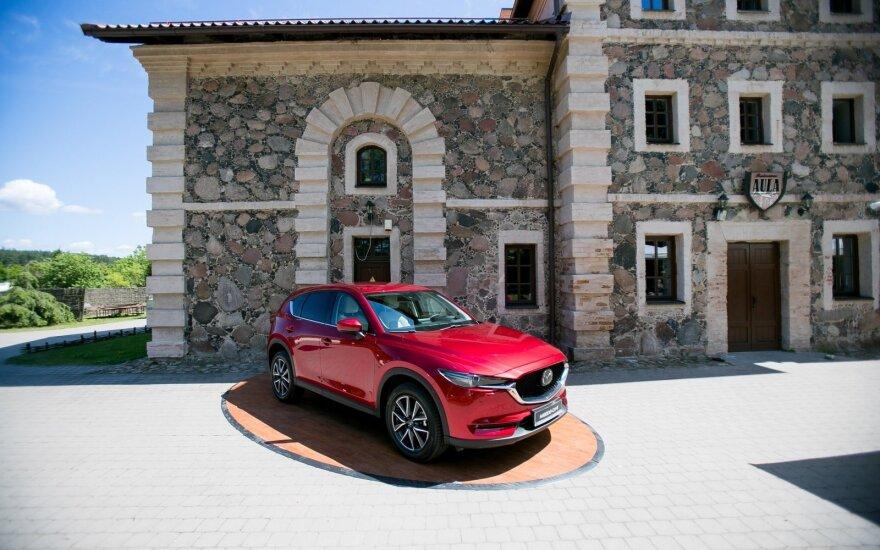 """Naujos kartos """"Mazda CX-5"""" pristatymas"""