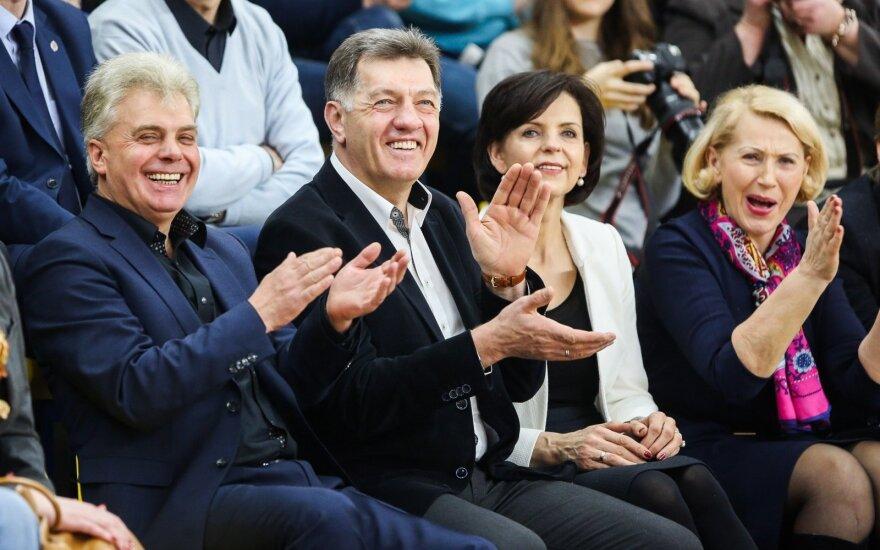 Alvydas Katinas ir Algirdas Butkevičius su žmona
