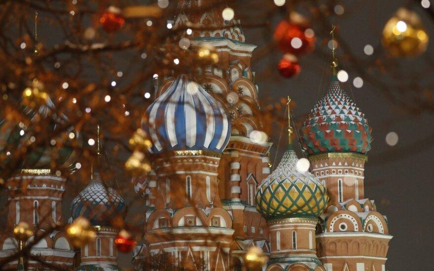 Rusijos žvalgyba skelbia užkirtusi kelią išpuoliams Maskvoje per Naujuosius