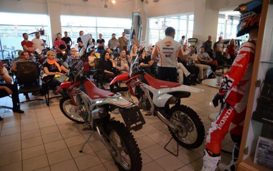 Mototurizmo ralio dalyvių susitikimas
