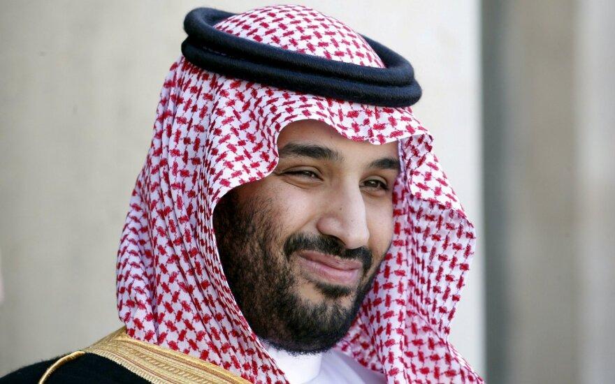 Saudo Arabijos karaliaus sūnus paskelbtas sosto įpėdiniu
