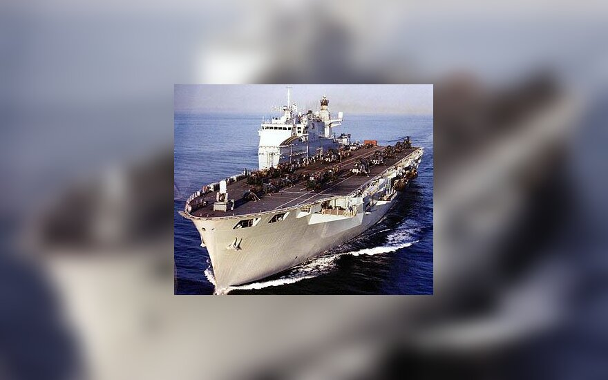 "Britų karo laivas ""Ocean"""