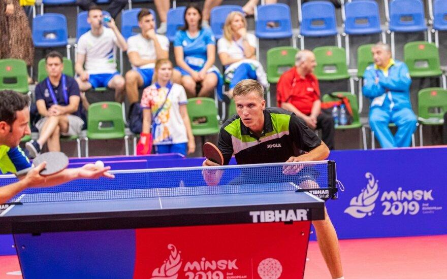 Medardas Stankevičius / Foto: Stalo teniso asociacija