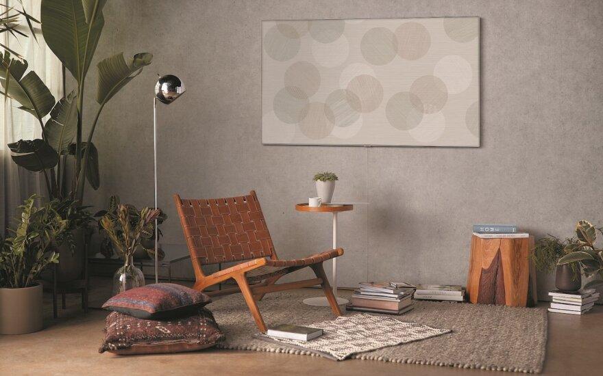 Televizorius gali atrodyti kaip paveikslas