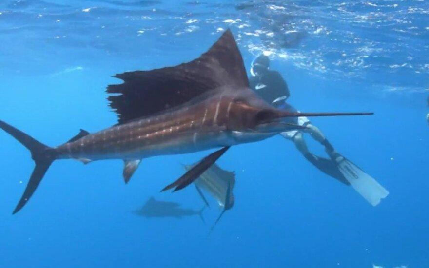 Žvejo istorijai patikrinti prireikė net melo detektoriaus