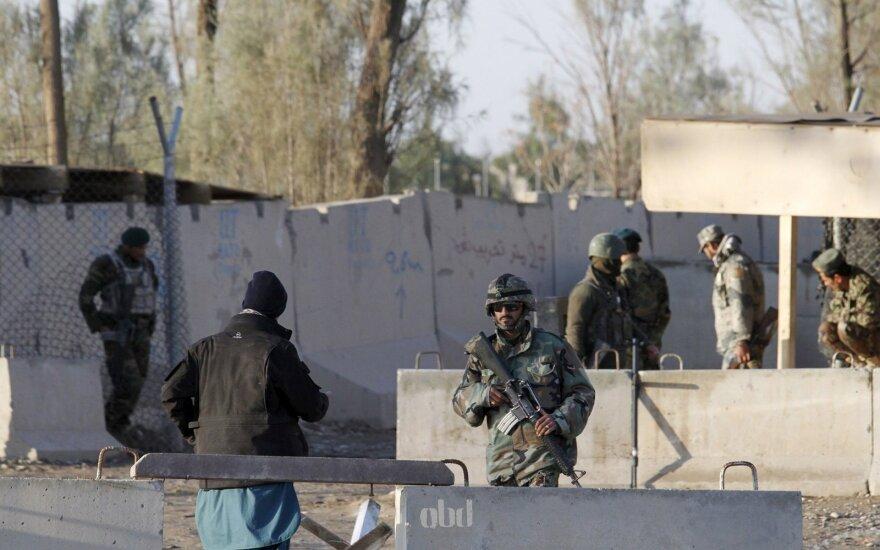 Afganistano prezidentas paskelbė laikiną ugnies nutraukimą