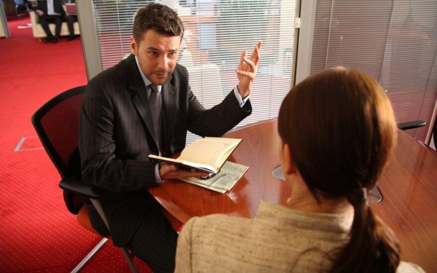 10 dažniausiai užduodamų klausimų pokalbyje dėl darbo