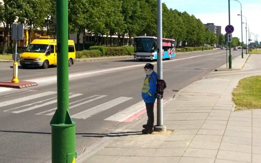 Pėsčiųjų perėja Klaipėdoje