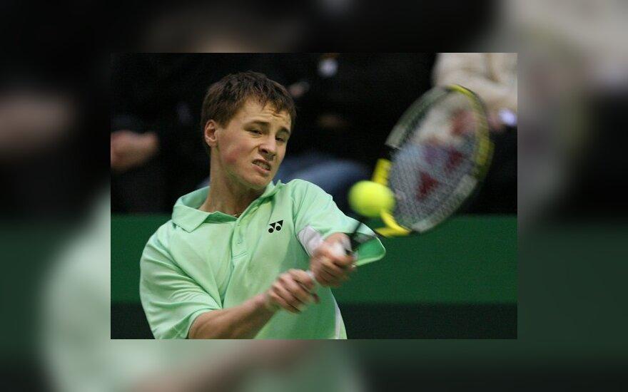 R.Berankis teniso turnyro JAV kvalifikacijoje nugalėjo antrą varžovą
