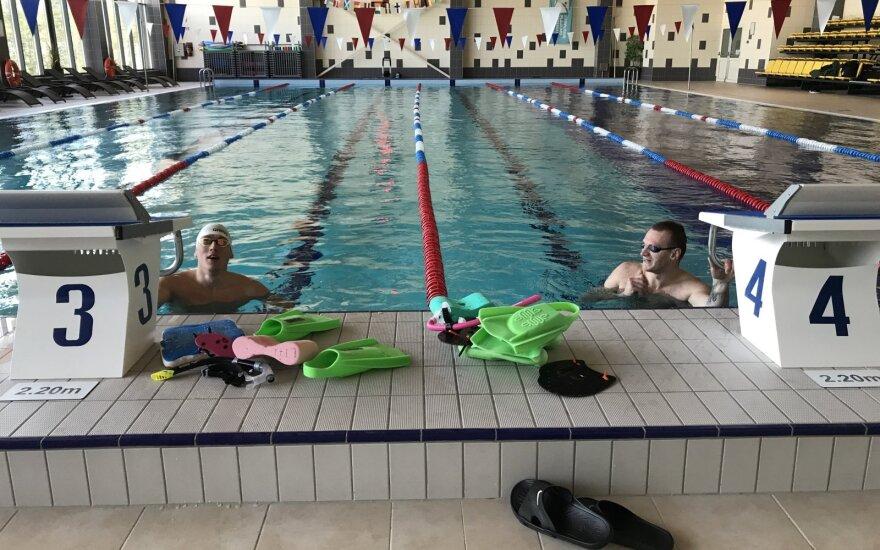Deividas Margevičius ir Giedrius Titenis / ltuswimming.lt