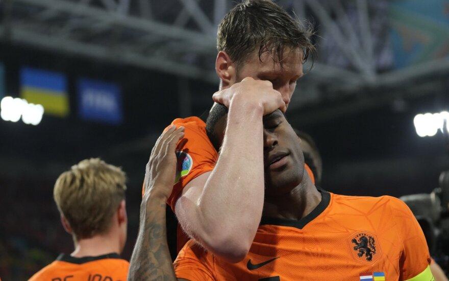 EURO 2020: Nyderlandai – Ukraina