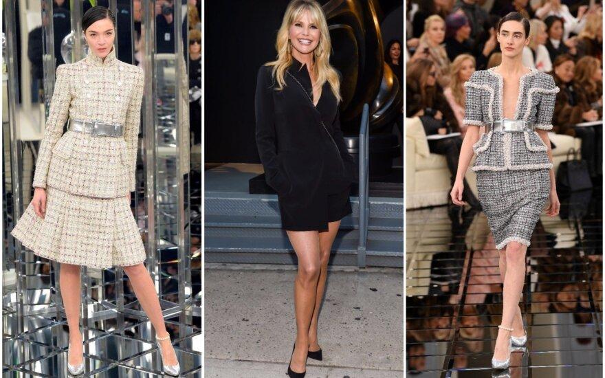 """""""Chanel"""" modeliai, Christie Brinkley (viduryje)"""