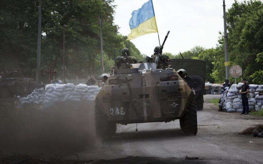 Žiniasklaida: Trumpo administracija vilkina Kijevo aprūpinimą ginkluote