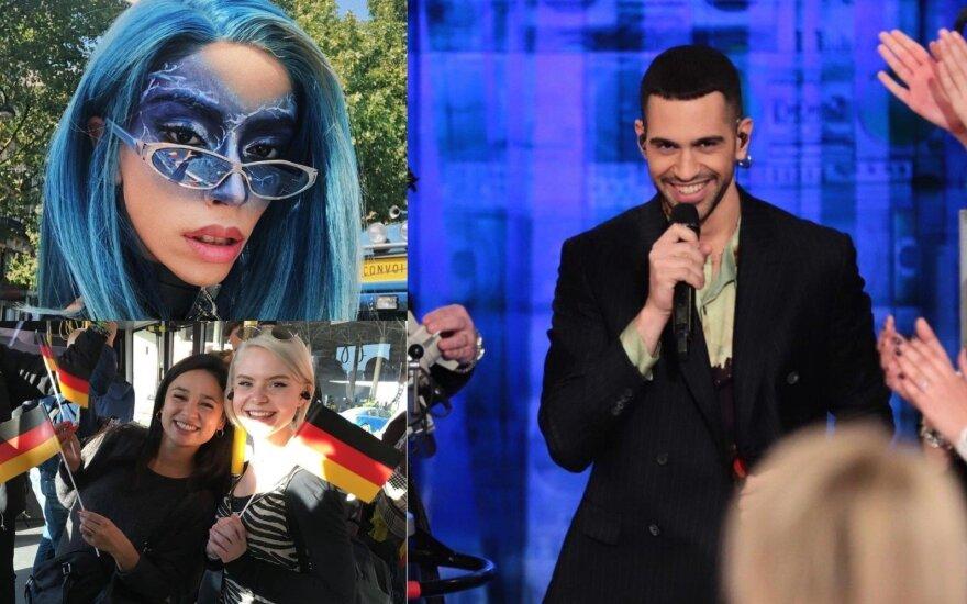 """""""Eurovizijos"""" konkurso dalyviai"""