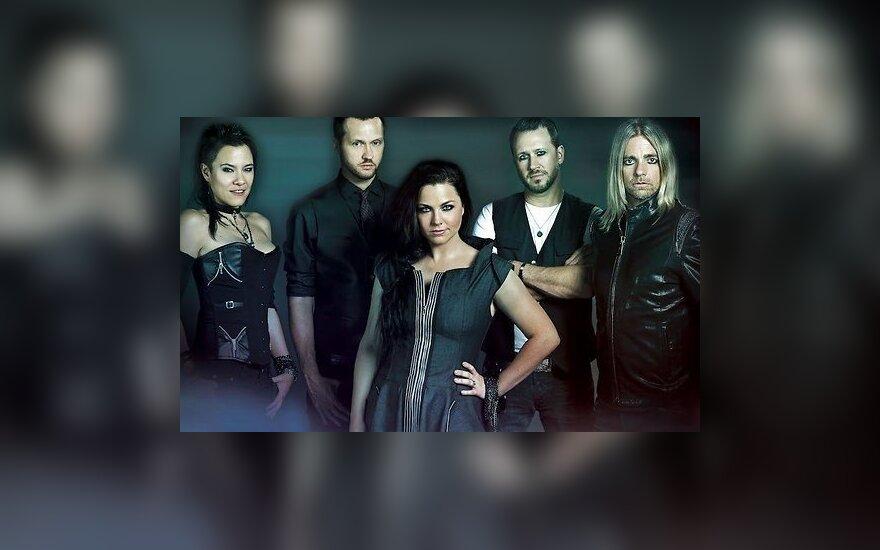 """Kitą savaitę Trakus drebins grupė """"Evanescence"""""""