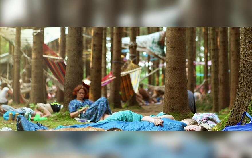 """Elektroninės muzikos festivalis """"Tundra '12"""" (G. Griniūtės nuotr.)"""