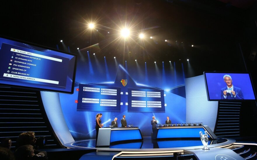 UEFA Čempionų lygos burtai
