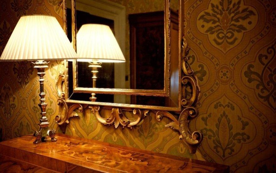 Antgamtinėmis jėgomis patikėjo veidrodyje išvydusi nekviestą svečią