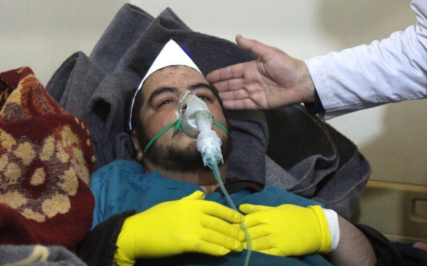 Sirijos užsienio reikalų ministras: Sirija nenaudojo ir nenaudos cheminių ginklų